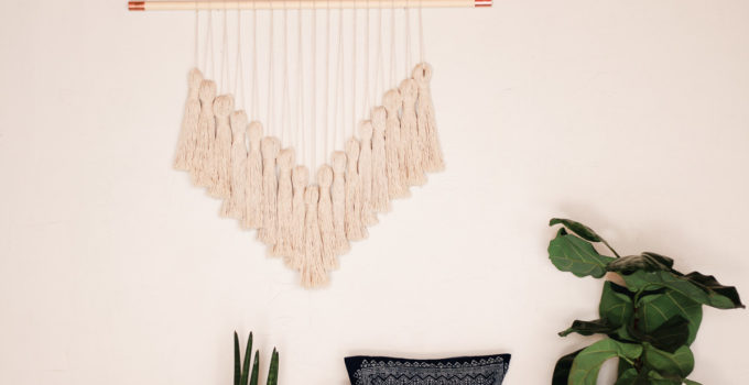 Stylish DIY Yarn Wall Hanging Tutorial