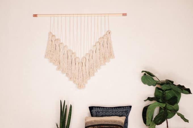 Stylish DIY Yarn Wall Hanging Tutorial