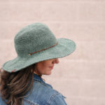 How to Stiffen The Brim of Any Crochet Hat (Without Starch!)