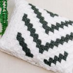 C2C Crochet Pillow Cover – Free Pattern by Fly the Distance Co.