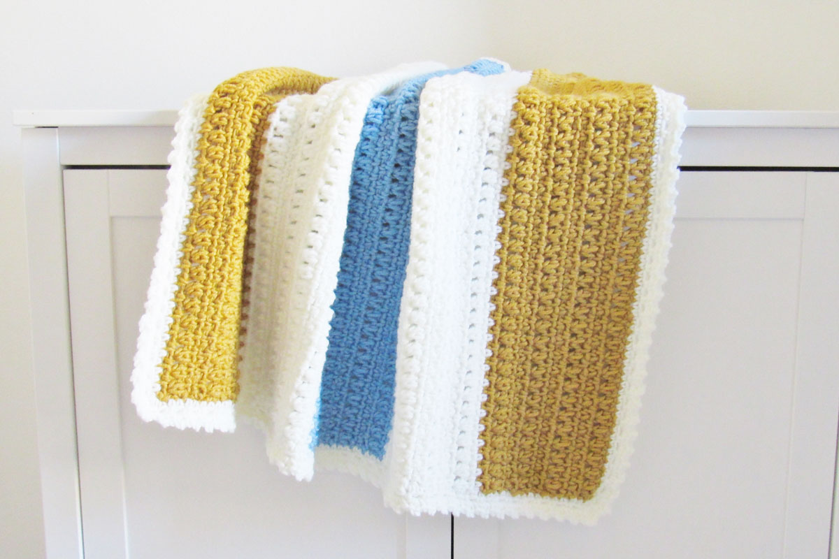 one day free crochet afghan pattern 4