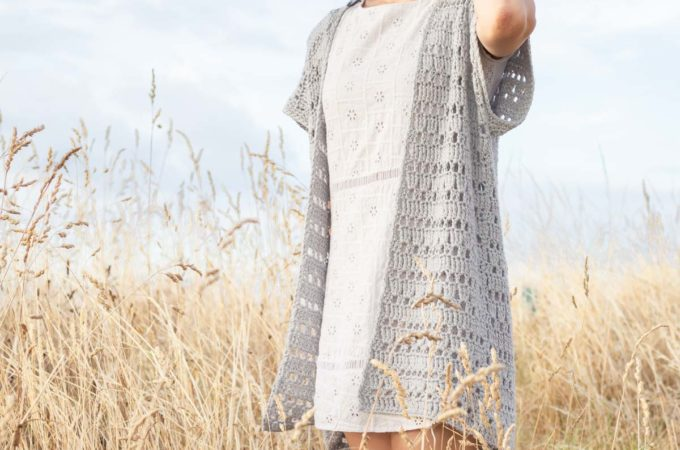 Summer Crochet Cardigan – Free Pattern by For the Frills