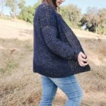 V-Stitch Crochet Cardigan – Free Pattern by Brindle Babe Designs