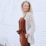 Simple Crochet Jacket – Free Pattern