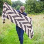 Tunisian Crochet Blanket Scarf – by Ned & Mimi