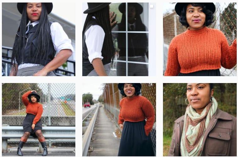 Cosmic Crochet Creation's Instagram feed.