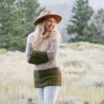 Easy Crochet Yoke Sweater – Free Pattern